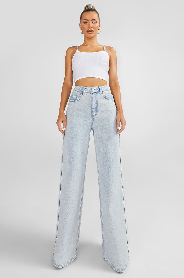 Denim Fit - Wide Leg Jeans