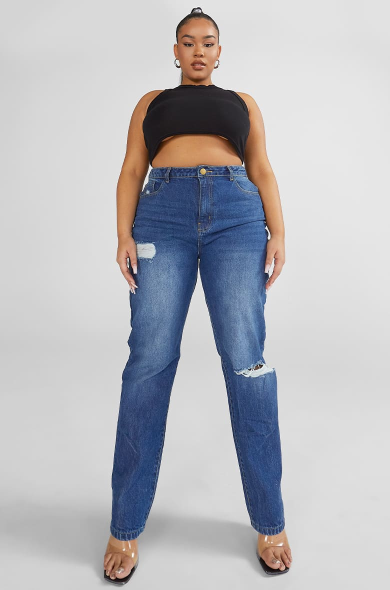 Denim Fit - Boyfriend Jeans